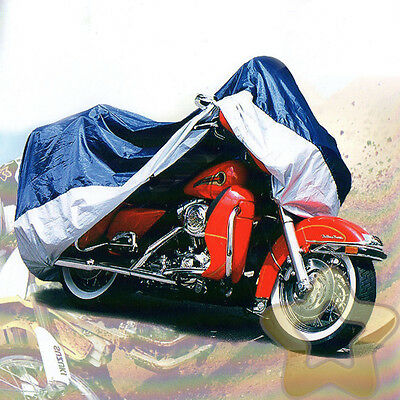 2.08M Motorbike Motorcycle Cover Heatproof Water Breathable Outdoor Rain Proof