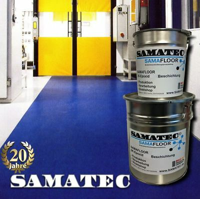 Epoxy floor coating ,10kg/50m² SAMAFLOOR BS98W industrial floor