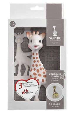 Sophie The Giraffe Limited Edition Competition Gift Set With Vanilla  Teether