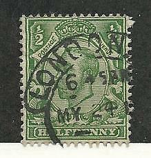 Great Britain, Postage Stamp, #153 Used, 1912