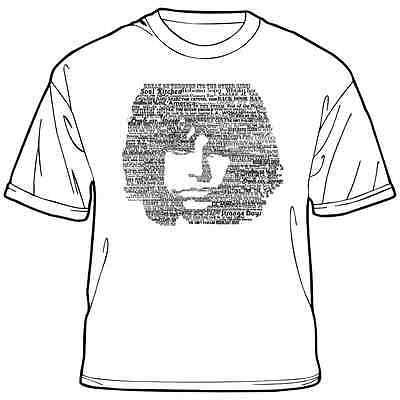 Jim Morrison Songs T-Shirt (The Doors/60s/Rock/Psychedelia)