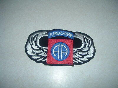 Genuine Military Patch Us Army 82Nd Airborne Division With Wings Colored Smaller