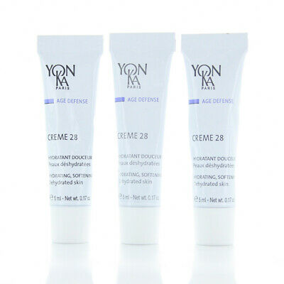 Yonka Elastine Nuit All Skin Hydrating Cream SAMPLES 3 TUBES 5ml/0.17oz NEW Magic Solution Set Advanced Skin Care System