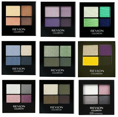 REVLON COLORSTAY 16 HOUR QUAD Eye Shadow Palette 4 Ombretti 16 hours SCEGLI