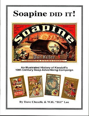 SOAPINE Did It! Book -History & Price Guide for Soapine Advertising Trade Cards