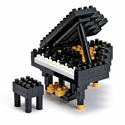 New Kawada nanoblock Japanese Grand Piano  japan building toys New
