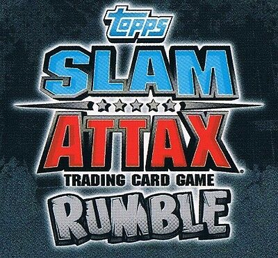 WWE Slam Attax TCG Rumble Choose One Signature Move Card from List