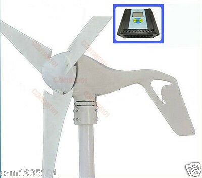 Wind Generator Kit Max Power 600W with 12V Wind/Solar Hybrid Controller NEW