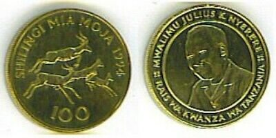 Tanzania: Uncirculated High Value Coin Pair, 100 & 200 Shillings