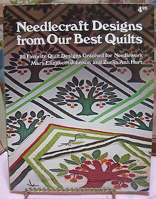 Vntg 1978 Needlecraft Designs from Our Best Quilts Book 20 Designs Oxmoor House