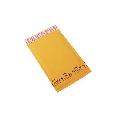 """1000 #00 5x10 """" Ecolite """" Kraft Bubble Mailers Padded Envelopes Bags 5 x 10"""