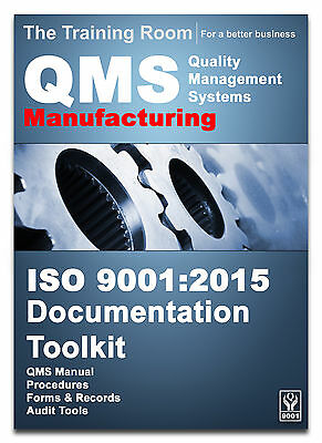 ISO 9001:2008 Quality Manual and Full Documentation for Manufacturing Companies