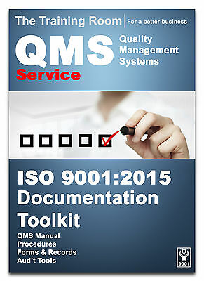 ISO 9001:2015 Quality Manual and Full Documentation for Service Companies