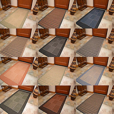 Rubber Back Heavy Duty Hard Wearing Durable Non Slip Floor Carpets Mats Rugs Rug