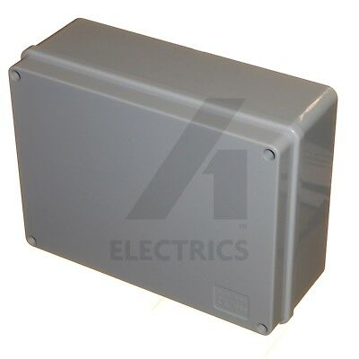 Junction terminal connection box outdoor adaptable 190 x 140 x 70 enclosure IP56