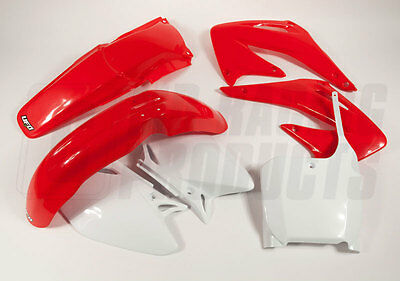 New UFO Motocross 5 Piece Plastic Kit HONDA CRF 450 2002-2003