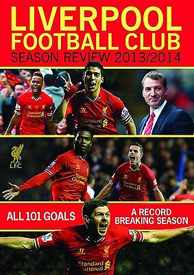 LIVERPOOL Football Club Season Review 2013/2014 DVD in Inglese NEW .cp