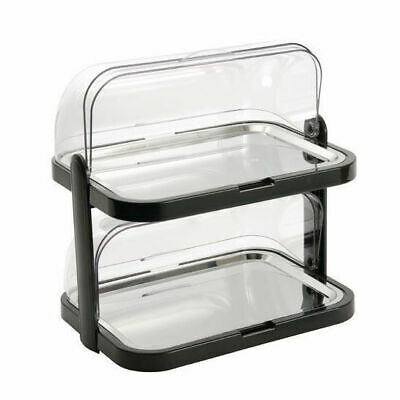 Cooling Tray with Roll Top, Platter, Outdoor Catering, 2 Tier, 440 x 320 x 440mm
