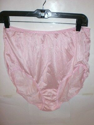 Wholesale Lot Of 12 100% Nylon Size 8 Womens High-Cut Underwear