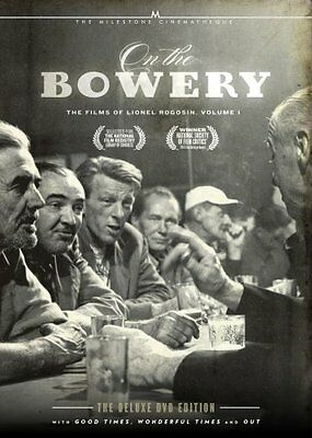 ON THE BOWERY THE FILMS OF LIONEL ROGOSIN VOL 1 New Sealed 2 DVD set