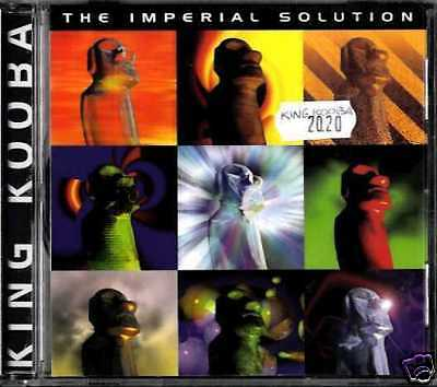 King Kooba - The Imperial Solution Cd New