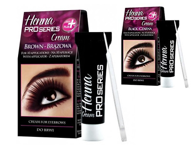 Verona Pro Series Henna Cream For Eyebrows Black Brown