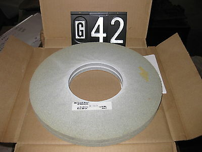 "SCOTCH BRITE 12""X1/2""X5""  8A MED   18966  EX2 DEBURRING WHEEL 2 wheels per box"