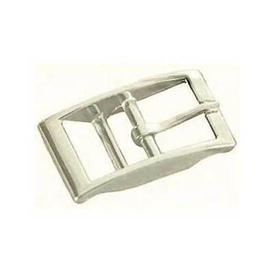 Nickel Plated Steel Double Bar Buckle 1514-00 Strap Buckle 1""