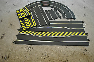 Scalextric Sport track racing curves squeeze straights halves jump extension
