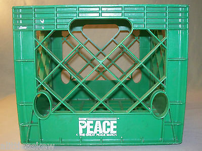 Authentic 1986 GPM Milk Crate Great Peace March For Global Nuclear Disarmament