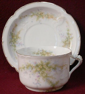 ROSENTHAL china TILLY R322 pattern CUP & SAUCER Set