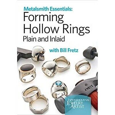 Metalsmith Essentials Forming Hollow Rings Instructional DVD Bill Fretz
