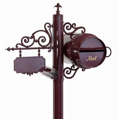 Large Milk Can Free Standing Letterbox Mailbox - Australian Made Letter box