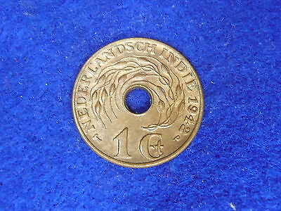 Netherlands Indies 1942 one cent nice lustre