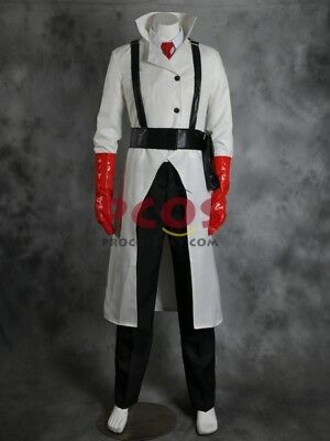 Team Fortress 2 Medic White Cosplay Costume mp000577