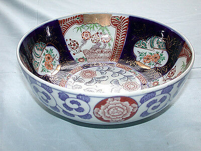 Beautiful Antique Japanese IMARI Hand Painted Bowl