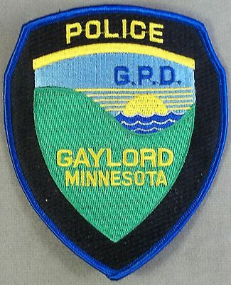 Law Enforcement Patch / Gaylord Police Department / Minnesota