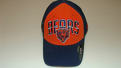 New Era Hat Cap NFL Football Chicago Bears M L 39thirty 2013 Draft Flex Fit 2be61f325