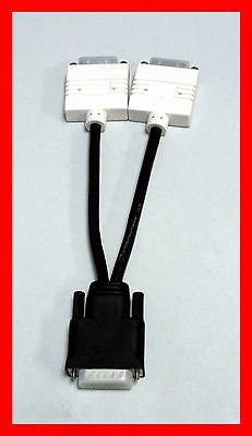 LOT OF 10 HP 338285-009 Y Cable DMS-59 to Dual DVI Connectors 70-5