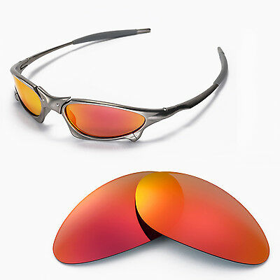 New Walleva Polarized Fire Red Lenses For Oakley Penny