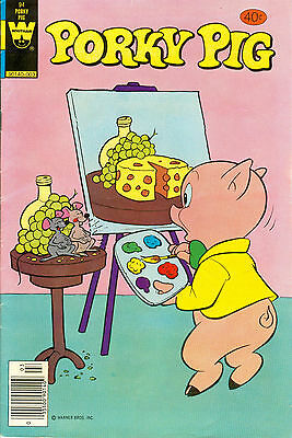 Porky Pig #94 - Whitman Comics, March 1980 - 40¢ cover price