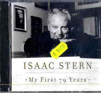 ISAAC STERN My First 79 Years CD Sealed