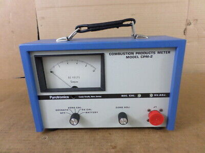Pyrotronics Model CPM-2 Combustion Products Meter