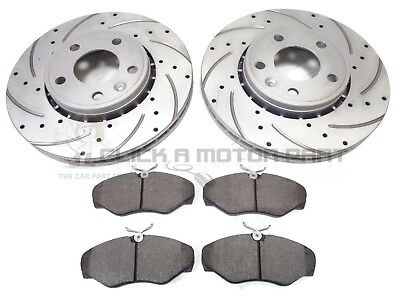 RENAULT TRAFIC 1.6 DCI 2014-2019 FRONT BRAKE PADS WITH ANTI SQUEAL SHIMS