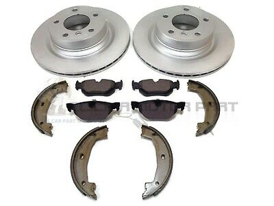 Bmw E90 320D 320 Diesel M Sport 2005-2011 Rear 2 Brake Discs And Pads & Shoes