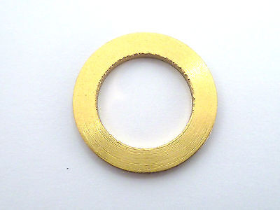 M16 16mm BORE THICK SOLID  BRASS WASHERS WASHER