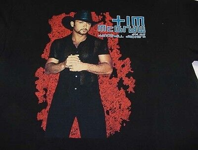 TIM MCGRAW AND THE DANCEHALL DOCTORS COUNTRY CONCERT TOUR TEE T SHIRT Sz Mens L