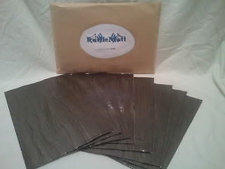 RATTLEMATT x 20 SHEETS!! Car Audio Sound Deadening Proofing Sheets Pads Panels