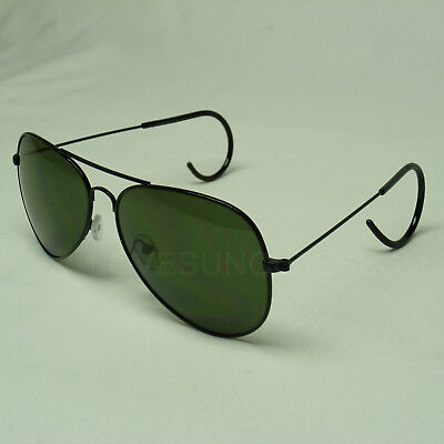 de37972093651 Sunglasses Cable Temple Lens New Medium Frame Vintage Aviator Men Women  Unisex