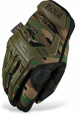 Genuine Mechanix Tactical M-PACT Gloves in Woodland Camo all sizes MPACT